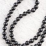 Mala Prayer Black Wood Beads