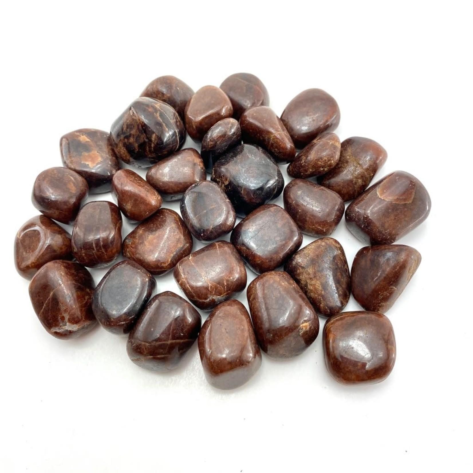 Hessonite Garnet Tumbles Stone -  M