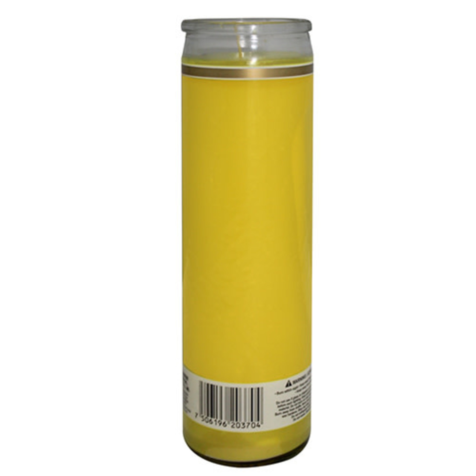 36 Hour Candle Plain Yellow