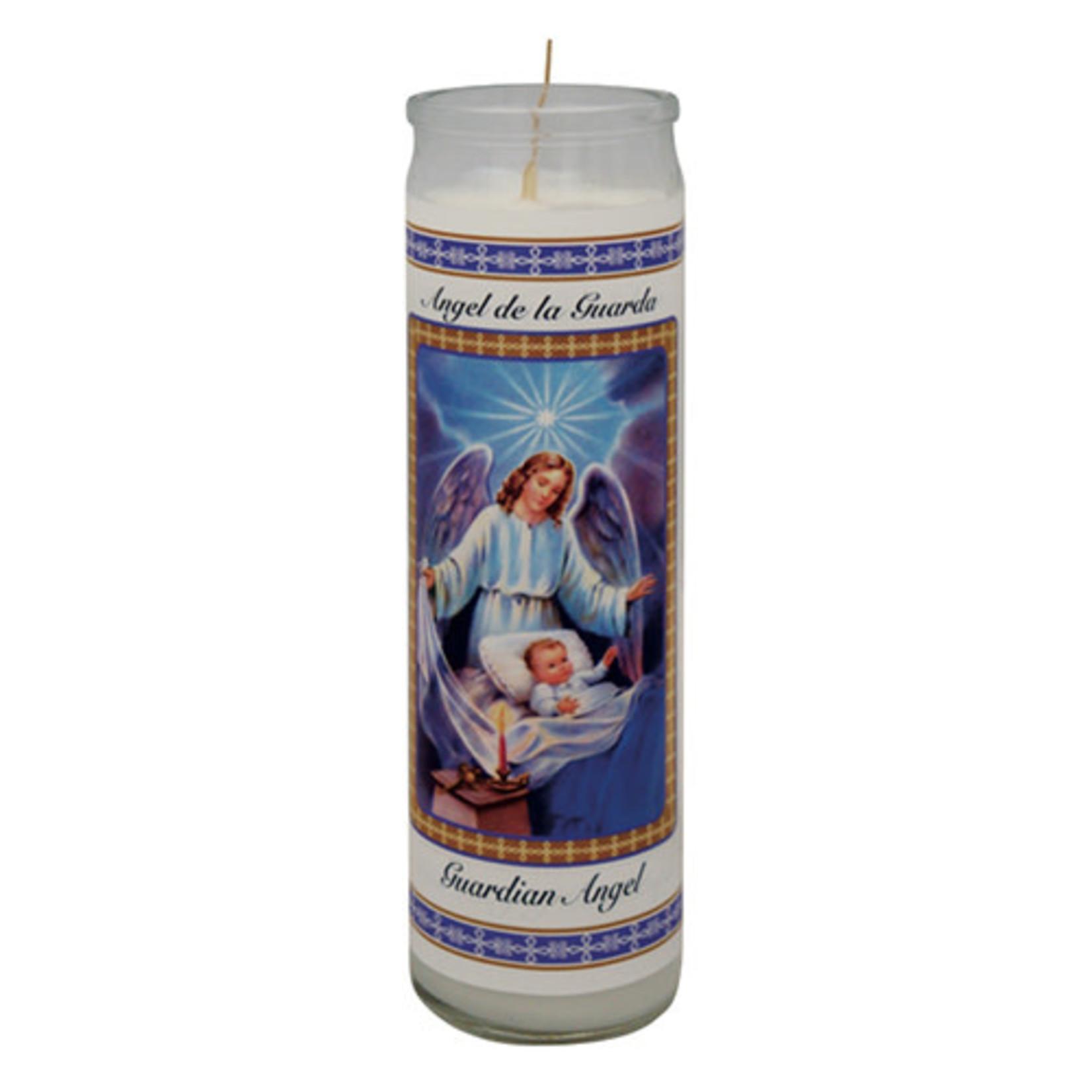 36 Hours Candle Guardian Angel - ANGEL DE LA GUARDA