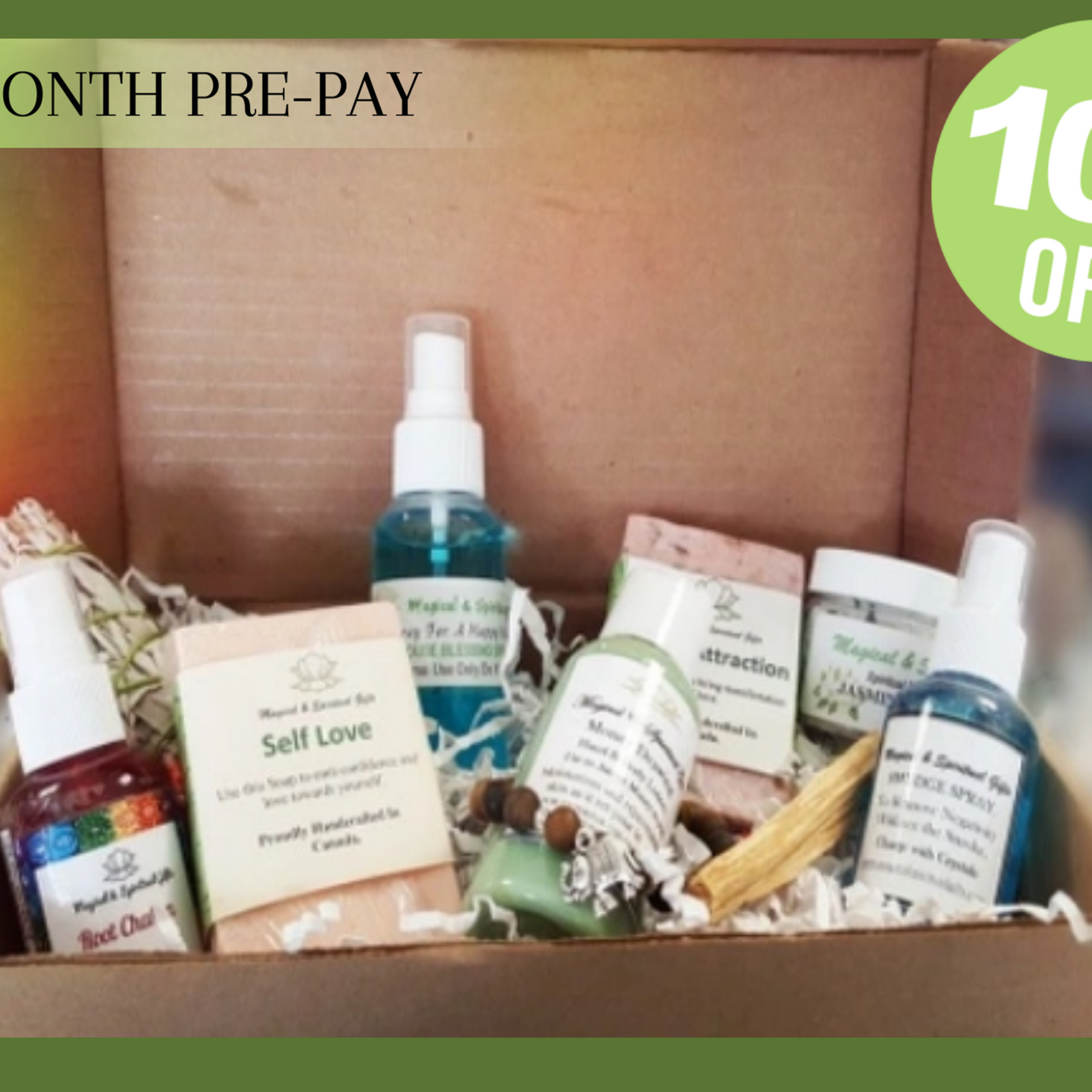 Subscription Box (3 Month Pre-Pay)
