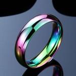Rainbow Hematite Ring (Size 9-11)