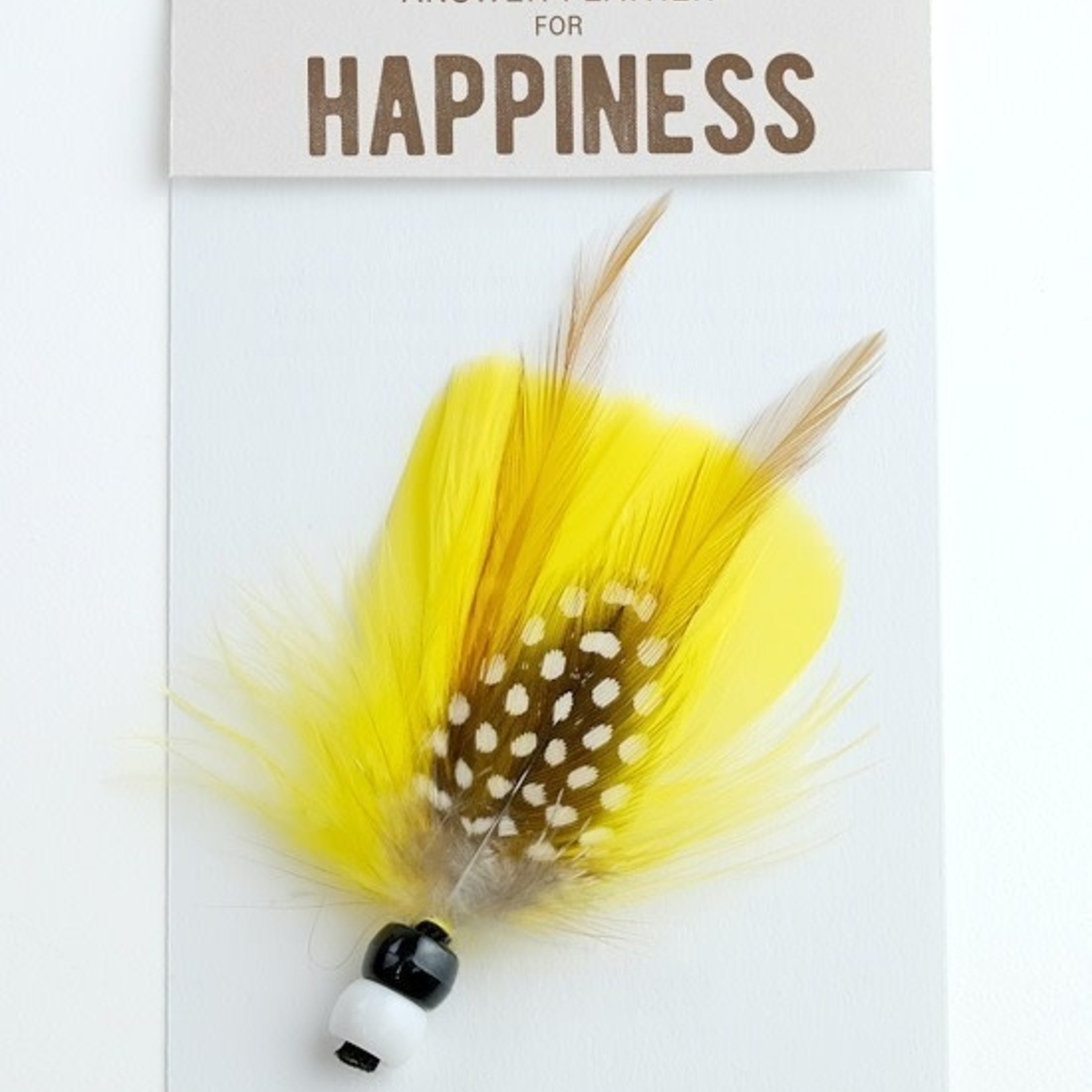 Answer Feather For  - Happiness