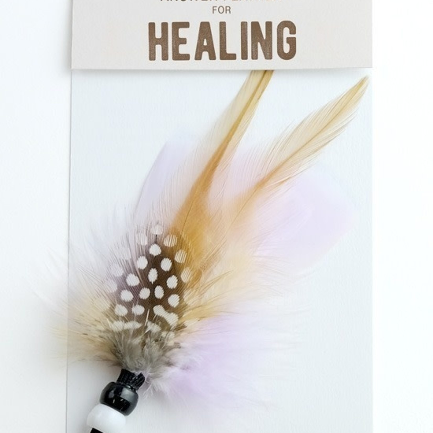 Answer Feather For  - Healing