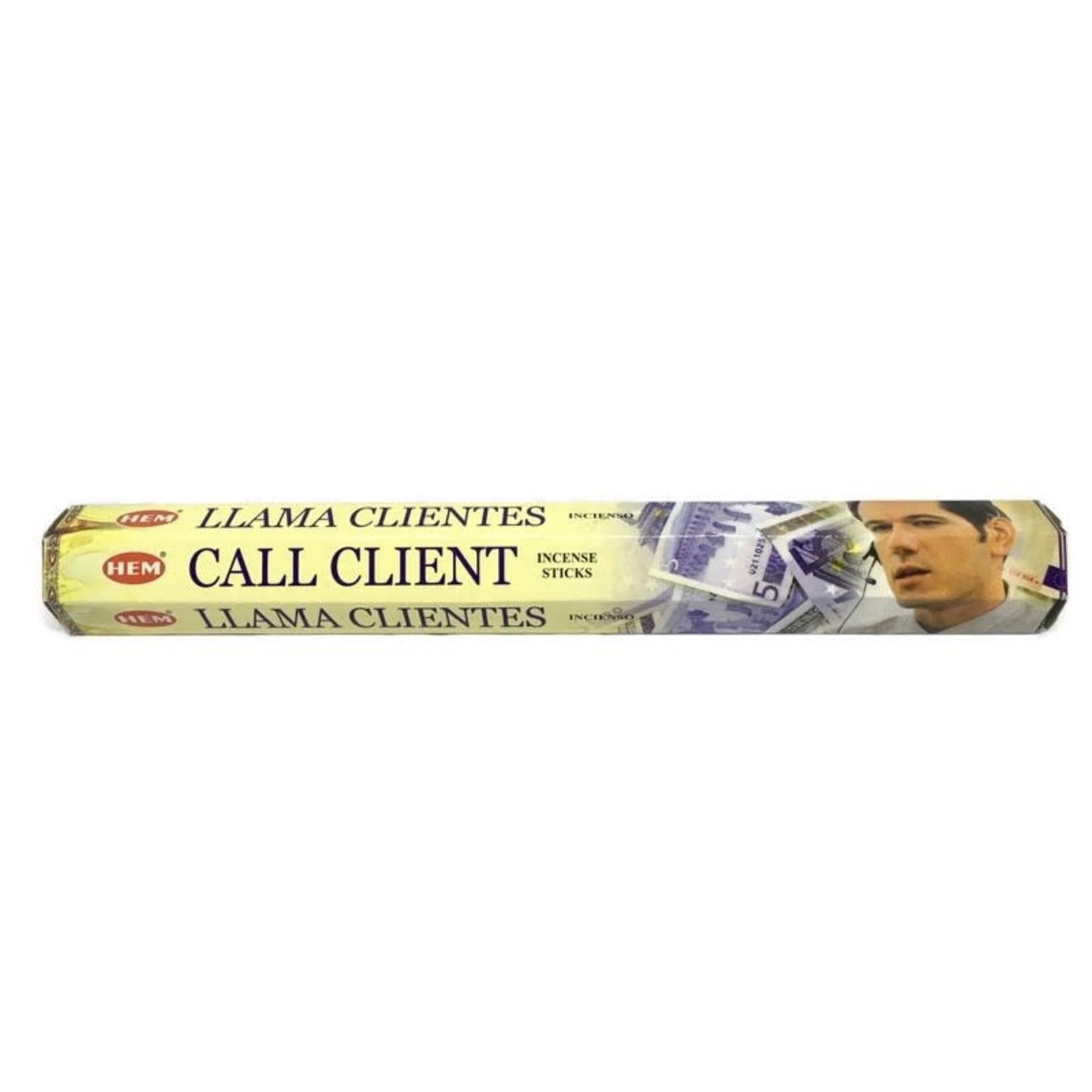 Call Client Incense Sticks (HEM)