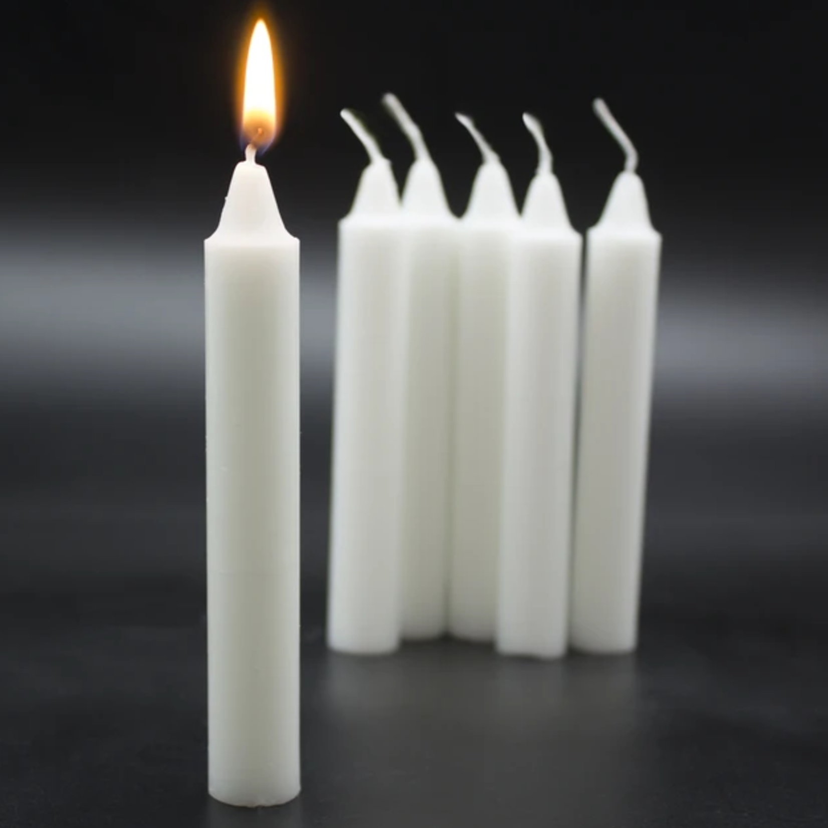 Tapered 5 Hour Candle White