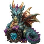 Baby Aqua  Dragon With Gem