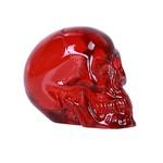 Translucent Red Skull