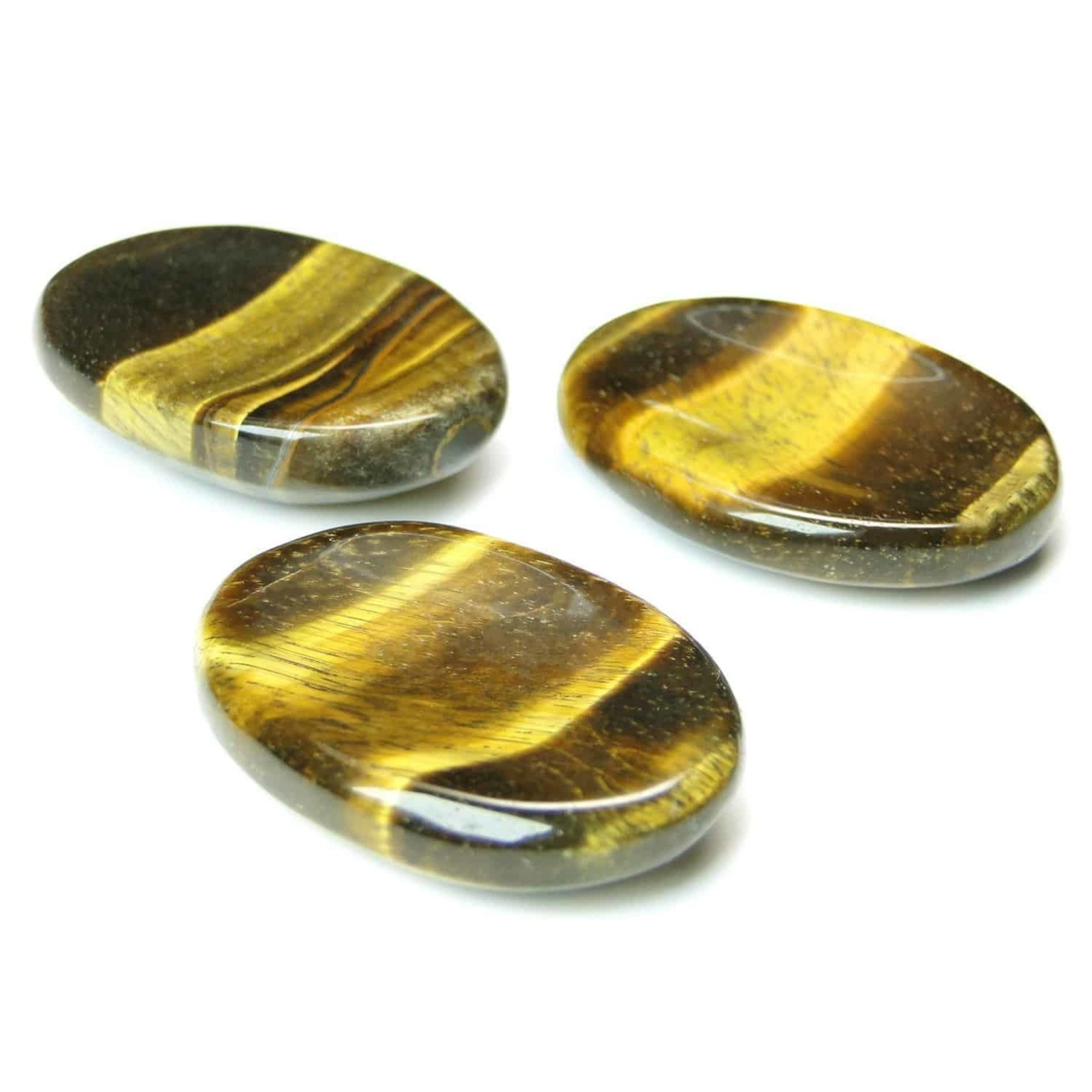Gold Tiger's Eye Worry Stone