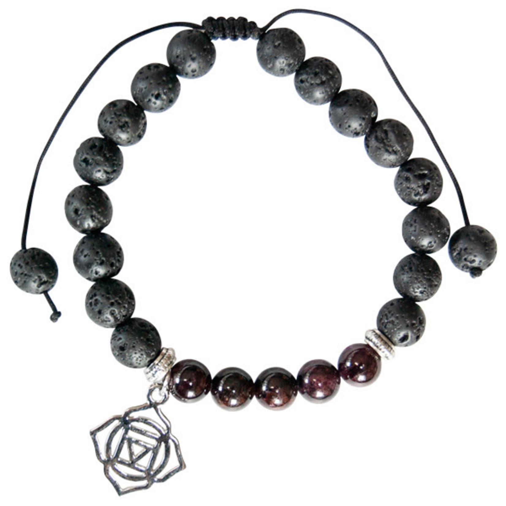 Garnet (Root) Bracelet