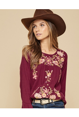 Andree Embroidery top