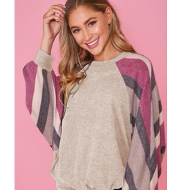 Fantastic Fawn Long Sleeve Contrast on SL