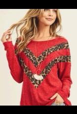 Mohair Leopard Contrast