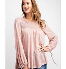 Easel Babydoll Knit Tunic
