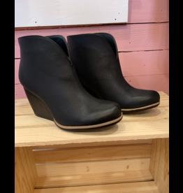 Hyde Black Wedge Boot