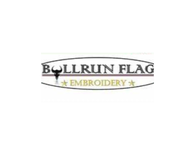 Bull Run Flag Embroidery