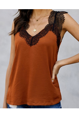 Lily Clothing Lace Cami Top