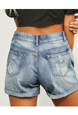 Lily Clothing Distressed Jean Shorts