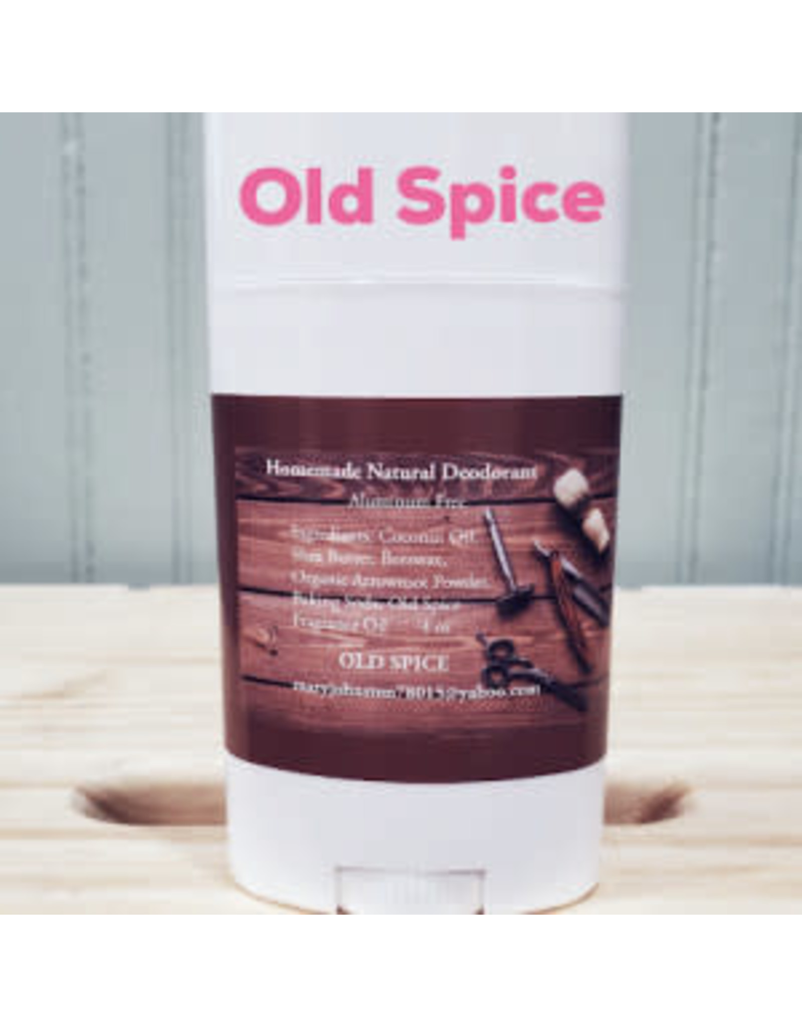 Fancy Goat Boutique Homemade Old Spice