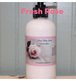 Fancy Goat Boutique Goat Milk Lotion  Fresh Rose