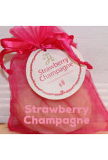 Fancy Goat Boutique Soap Strawberry Champagne