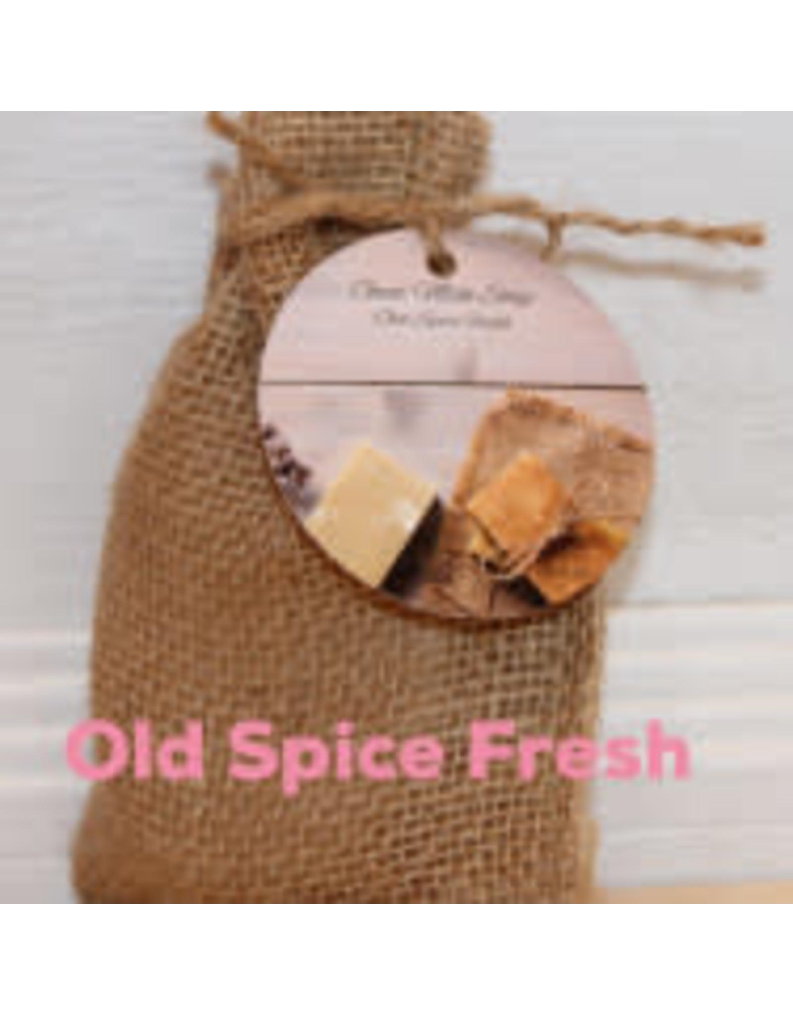 Fancy Goat Boutique Soap Old Spice Fresh