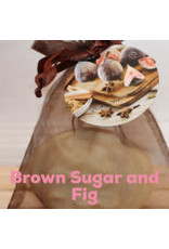Fancy Goat Boutique Soap Brown Sugar and Fig
