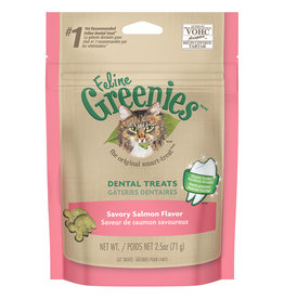 Greenies Dental Savory Salmon 2.5OZ (10) / Cat