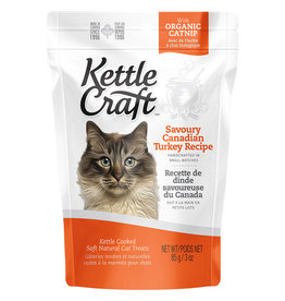 Kettle Craft Savoury Canadian Turkey 85GM - Cat