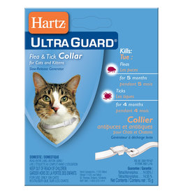 Hartz Ultra Guard Flea & Tick Collar / Kitten & Cat