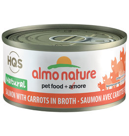 Almo | Natural Salmon with Carrots in Broth