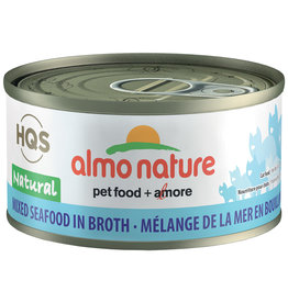 Almo | Natural Mixed Seafood in Broth 70GM - Cat SINGLE