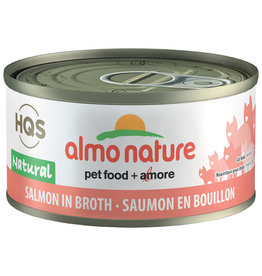 Almo | Natural Salmon in Broth 70GM - Cat SINGLE