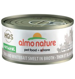 Almo | Natural Tuna & Whitebait Smelt in Broth 70GM - Cat SINGLE