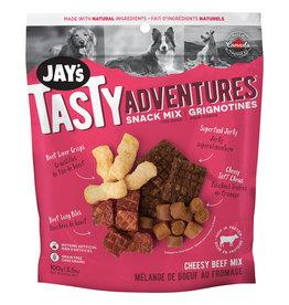 Jay's Cheesy Beef Snack Mix