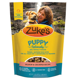 Zukes Puppy Naturals Salmon & Chickpea 5OZ