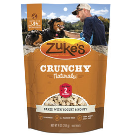 Zukes Crunchy Naturals Baked Yogurt & Honey 9OZ