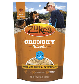 Zukes Crunchy Naturals Pumpkin & Sweet Potato 12OZ
