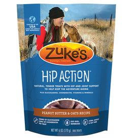 Zukes Hip Action Peanut Butter & Oats 6OZ