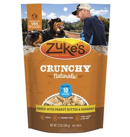 Zukes Crunchy Naturals Peanut Butter & Bananas 12OZ