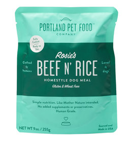 Portland Pet Homestyle Topper Rosie's Beef N' Rice 9OZ