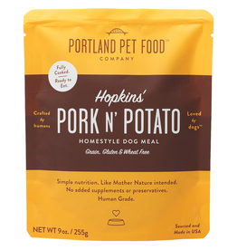 Portland Pet Homestyle Topper Hopkins' Pork N'Potato 9OZ