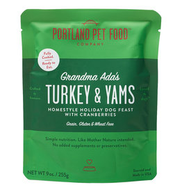 Portland Pet Homestyle Topper Grandma Ada's Turk&Yams 9OZ