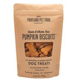 Portland Pet Grain & Gluten Free Pumpkin Biscuit 5OZ
