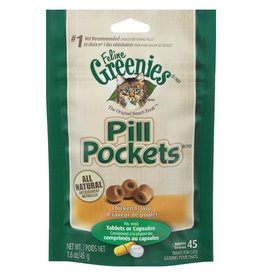 Greenies Pill Pockets Chicken 1.6OZ - Cat