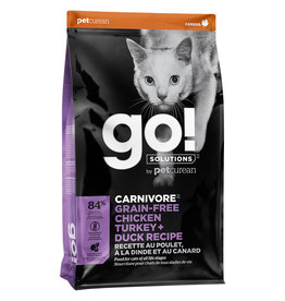 Petcurean GO! Carnivore Chicken Turkey & Duck - Cat