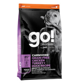 Petcurean GO! Carnivore Chicken Turkey Duck - Senior