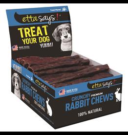 "Etta Says! Premium Crunchy Rabbit Chews 4"" SINGLES"