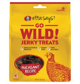 Etta Says! Go Wild! Jerky Pheasant Recipe 5OZ