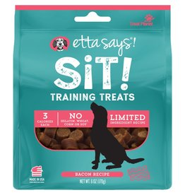 Etta Says! Sit! Training Treats Bacon Recipe 6OZ